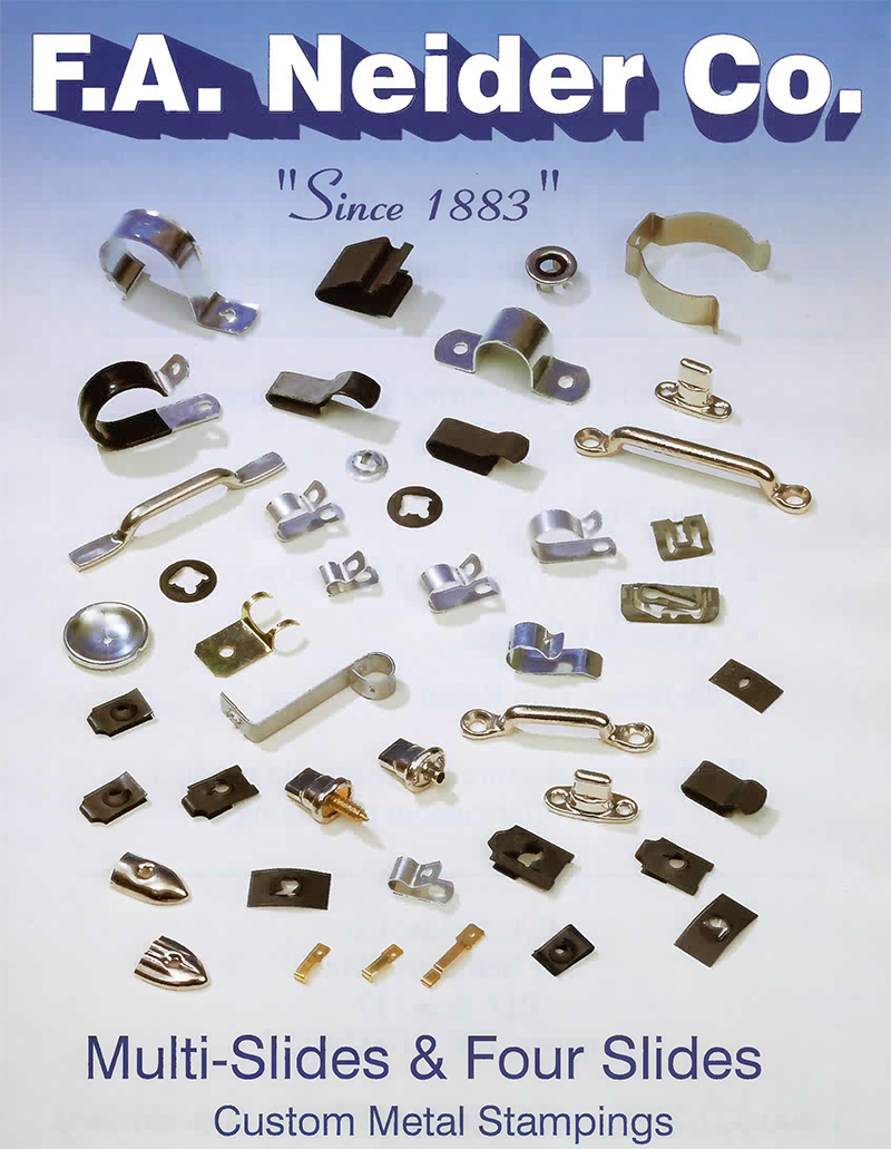 Fa Neider Co Custom Metal Stampings